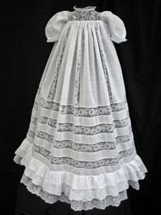 antique christening robe ... ca. 1910-15