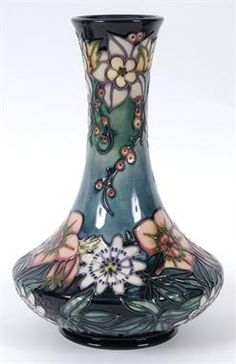 A large Moorcroft pottery Carousel pattern vase, numbered edition 644, signed by Rachel Bishop, 28.5 cm high See inside front cover colour illustration