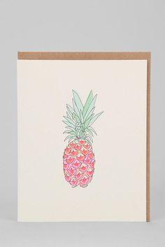 Hartland Brooklyn Pineapple Card