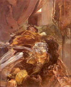 Jacek Malczewski - Death of Ellenai (1907) #3