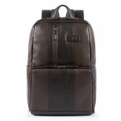 RICHARD BALDWIN Mens Business Travel Backpack Leather Leather Backpack