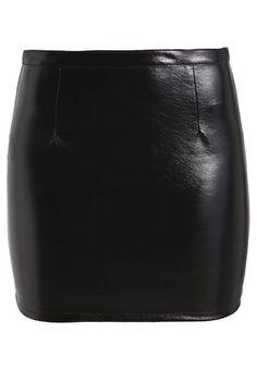 new product 51fda bacc5 ONLCARO GLAZED - Minirock - black  Zalando.de 🛒