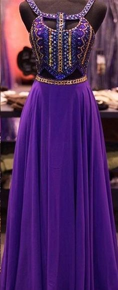 2016.Newest Long Chiffon Prom Dresses,Modest Prom Dresses. http://www.luulla.com/product/530392/2016-new-design-purple-beaded-prom-dresses-open-back-prom-dress-charming-evening-dresses-evening-gowns-elegant-party-dresses #promdresses #long #purple #modest #chiffon #cheap