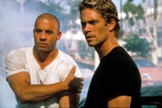 In the film that made his name, The Fast And The Furious with Vin Diesel