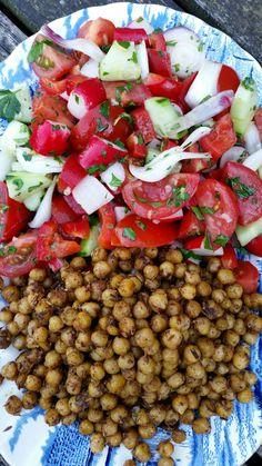 Jai reçu lelivre de Yotam Ottolenghi et Sami Tamimi Jérusalem en Salad Recipes Healthy Lunch, Salad Recipes For Dinner, Salad Dressing Recipes, Chicken Salad Recipes, Easy Healthy Recipes, Vegetarian Recipes, Healthy Chicken, Smoothie Recipes, Chefs