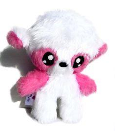 Fluse: Kawaii Plush little cute Teddy Bear Pink Panda von Fluse123