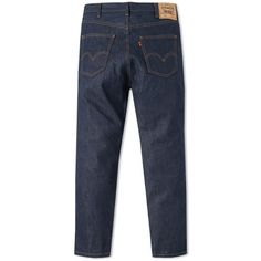 Levi's Vintage Clothing 1969 606 Jean (17.200 RUB) ❤ liked on Polyvore featuring men's fashion, men's clothing, men's jeans, mens waxed denim skinny jeans, levi mens jeans, mens distressed denim jeans, mens destroyed jeans and mens distressed skinny jeans