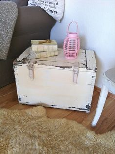 storage chest end table