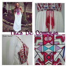 vestido largo bohemia