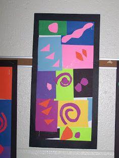 WHAT'S HAPPENING IN THE ART ROOM??: 2nd GRADE-Henri Matisse