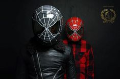 Spider Man Motorcycle Helmets