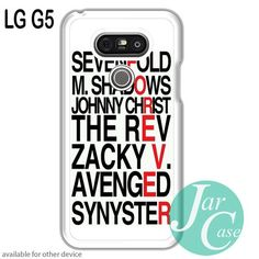 Avenged Sevenfold Quotes forever Phone case for LG G5 and other cases