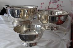 Found on EstateSales.NET: Sterling Silver Bowls