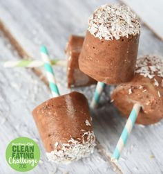 These super creamy popsicles have no dairy and no added sugar. Get the recipe here.