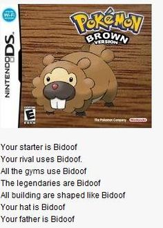 This would be the worst game ever!!! Along with Pokemon Purple, everything is Rattata!!!