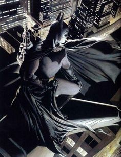 Batman painted by Alex Ross
