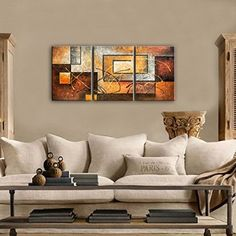 Phoenix Decor-Abstract Canvas Wall Art Paintings on Canvas for Wall Decoration Modern Painting Wall Decor Stretched and Framed Ready to Hang 3 Piece Canvas Art - Store Online for Your Live and Style 3 Piece Canvas Art, Abstract Canvas Wall Art, Wall Canvas, Decoracion Low Cost, Modern Wall Art, Decoration, Art Paintings, Wall Decor, Home Decor