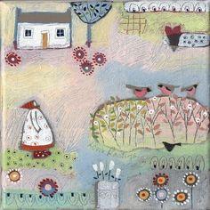 Louise Rawlings Art - Mrs Spotty Wellies