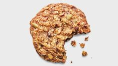 Anytime Chocolate Chip and Oat Cookies Recipe | Bon Appetit Oat Cookie Recipe, Cookie Recipes, Dessert Recipes, Desserts, Gooey Cookies, Oat Cookies, Whole Grain Flour, Oats Recipes, Dessert