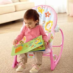 Fisher-Price Infant To Toddler Rocker, Bunny A great rocker for your child to grow into. What Is The Fisher-Price Infant-to-Toddler Rocker? The Fisher-Price Toddler Rocking Chair, Baby Rocker, Rocker Girl, Fisher Price, Rock N Play Sleeper, Health Super, Apartment Balcony Decorating, Baby Bouncer, Relax