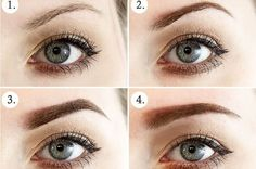 perfect-eyebrows-made-easy-with-semi-permanent-make-up - More Beautiful Me 1 Best Eyebrow Pencils, Eyebrow Makeup, Makeup Eyebrows, Eye Brows, Shape Eyebrows, Eyebrow Wax, Thick Eyebrows, Henna Eyebrows, Beleza