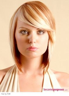 soft layered bob haircut with great color...hair by fmk