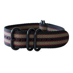 "21mm 5 Ring 12""(300mm) Military Army Diver Nylon Watch Strap Band #Black/Red/Olive - PVD Black yeppoonus http://www.amazon.com/dp/B00SB0J7PK/ref=cm_sw_r_pi_dp_Rk0Yub00X74F8"