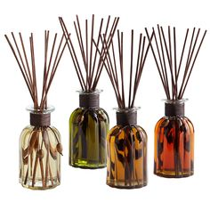 Set and forget: Flame-free, worry-free reed diffusers are available in the same exclusive blends as our candles.