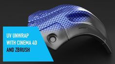 Quick Tip // UV unwrap with Cinema 4D and ZBrush