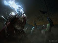 graveyard guard by jens fiedler  Sparrow Volume 4: Shane Glines