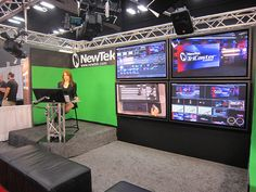 Tricaster Studio Setup - Ideal for #hyperlocal or #livestreaming events