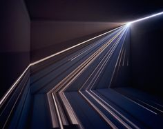 These light installations by Chris Fraser use a modified camera obscura to create an astounding effect.