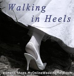 Learn how to walk in heels higher than what you are used to wearing.