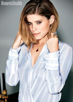 How to Slay Every Spring Fashion Trend Like Kate Mara - Photo by: Ben Watts…