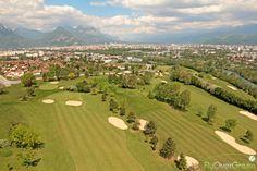 Golf de Grenoble-Seyssins, Isère, Auvergne-Rhône-Alpes, France. Vidéo aérienne sur FlyOverGreen / Aerial video on FlyOverGreen