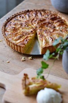 Cookie Desserts, Just Desserts, Dessert Recipes, Baked Salmon Recipes, Apple Recipes, Sweet Pie, Sweet Sweet, Swedish Recipes, Baked Goods