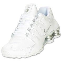 Nike Shox Nz White Metallic Silver