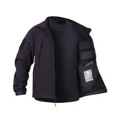 Concealed Carry Soft Shell Jacket - Drop Line - ninelineapparel
