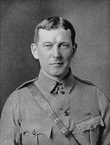 """Lieutenant Colonel John Alexander McCrae (1872 – 1918) was born in Guelph, Ontario.  He was a Canadian poet, physician, author, artist and soldier during World War I and a surgeon during the Second Battle of Ypres, in Belgium. He is best known for writing the famous war memorial poem """"In Flanders Fields""""."""