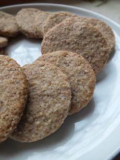 Ízőrző: Zabkeksz Cooking Recipes, Healthy Recipes, Healthy Food, Muffin, Paleo, Cookies, Breakfast, Desserts, Macaron
