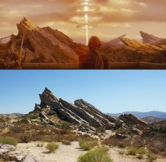 vasquez rocks planet of dinosaurs - Google Search