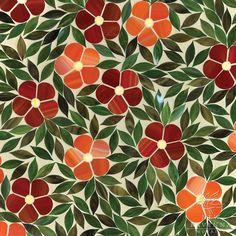 Jacqueline Glass mosaic tiles by New Ravenna