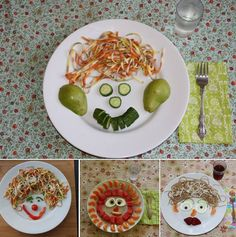 Happy meals can be healthy meals - with silly plates! http://copy-kids.com/silly-plates/