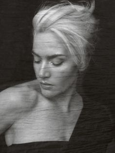 kate winslet for british vogue. Even better with her filthy mouth in Eternal Sunshine of the Spotless Mind
