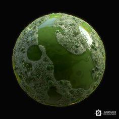ArtStation - Slime, Alexandr Gluhachev