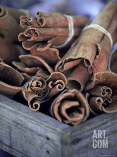 Cinnamon Sticks at the Market, Lesser Antilles, French West Indies Photographic Print by Yadid Levy at Art.com