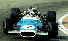 1969 Monaco GP, Monte Carlo : Jackie Stewart, Matra-Ford MS80 #7, Matra International, Retired (ph: facebook.com)