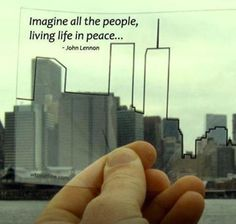 A Simple Image, A Quote From John Lennon, And A Small Step Toward Healing