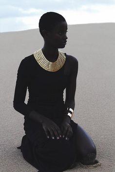 "esiloves: ""model: Eveline Correia photo: Cici Jones "" She kind of looks like Ava from ExMachina. Black Girls Rock, Black Girl Magic, African Beauty, African Women, African Fashion, African Art, Beautiful Black Women, Beautiful People, Black Women"