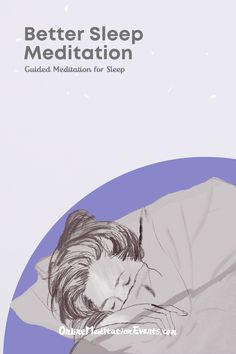 Guided Meditation For Sleep, Online Meditation, Relaxation Techniques, Cant Sleep, Sleep Better, True Nature, Insomnia, Stress And Anxiety, How To Fall Asleep